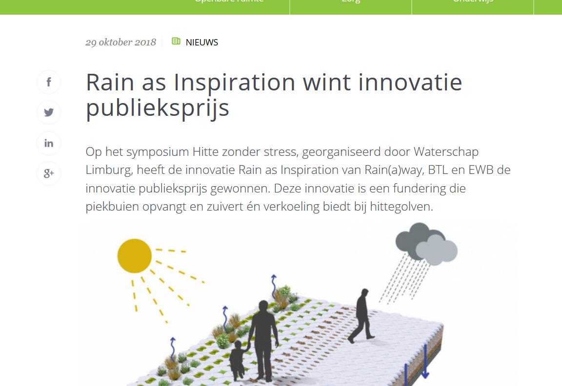GroenEffect artikel Rainaway