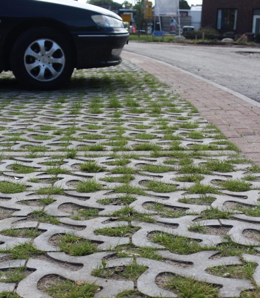 Groenparkeren, parkeerplaats groen
